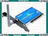 EDUP Netzwerkkarte WLAN / Funk 54Mbps PCI