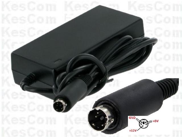 Power Supply Netzteil 12V 5V je 2A  5PIN - auf die Belegung achten !!!