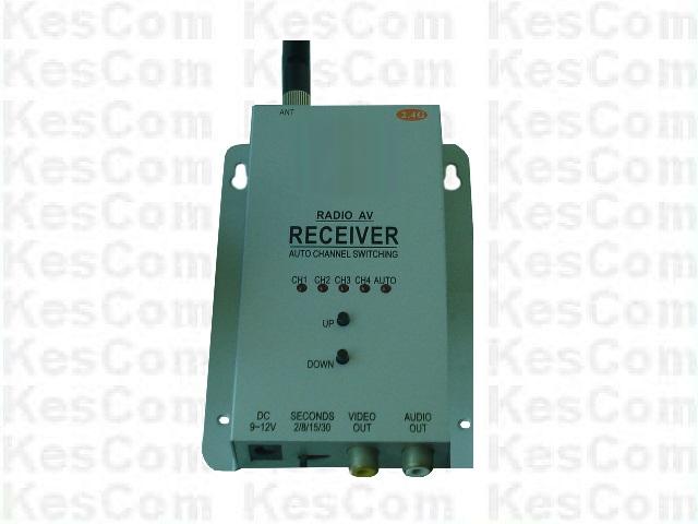 704M Standard Receiver / Empfänger für Funkkameras für Bild u. Ton