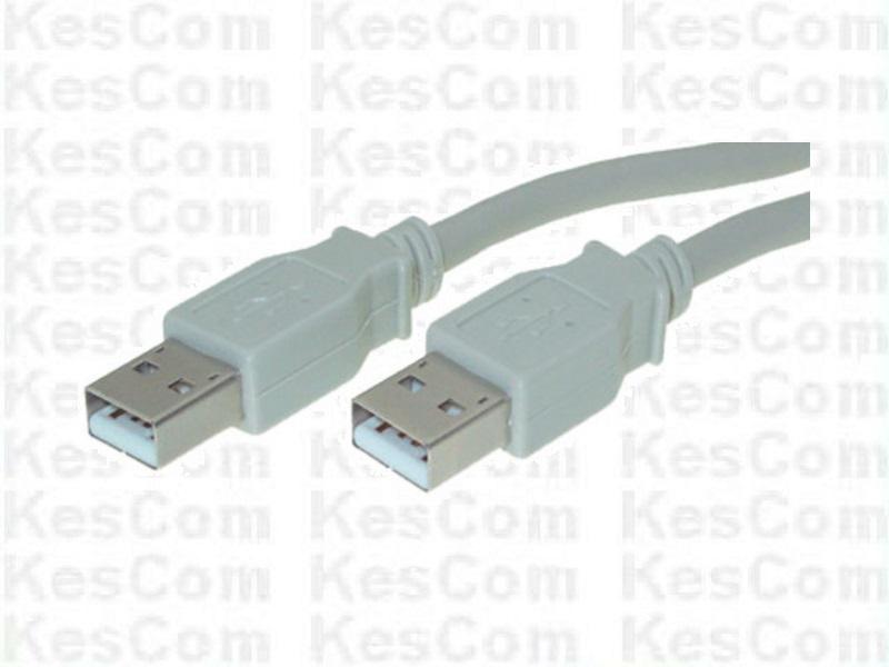 USB Kabel A-Stecker auf A-Stecker USB 2.0  5m