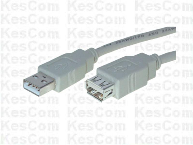 USB 2.0 5m Verlängerung A-Stecker / A-Buchse