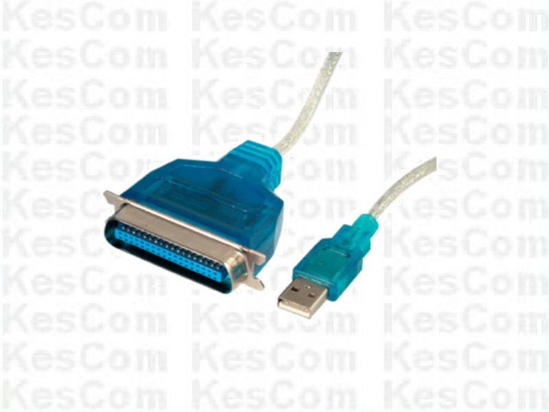 Drucker Kabel USB nach Parallel ( Centronics ) ca. 1,2m