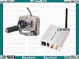 803D Mini Farb Funk Kamera inkl. Ton u. Empfänger 707